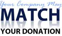 Your Company May Match Your Donation